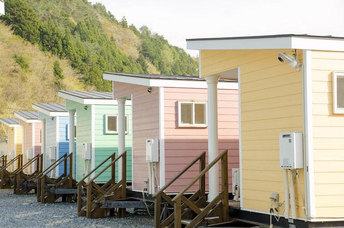 客室数も多いので団体の宿泊にも対応可能です。 撮影:浅野拓也