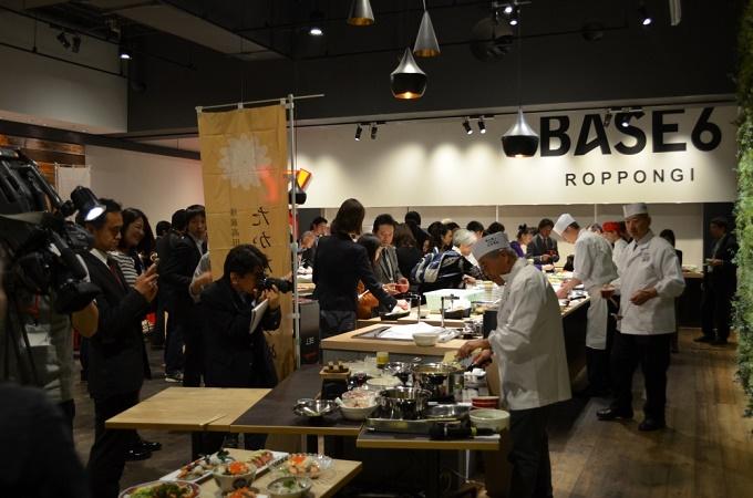 「たかたのゆめ」東京における試食会の様子